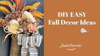 DIY Fall Decor|Decorate with Me