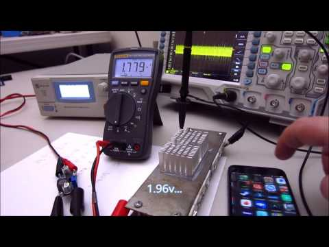 LM2596 eBay breakout stress test