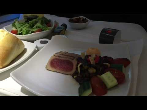 Air Canada Business Class Vancouver to Taipei on Boeing 787-9 AC11