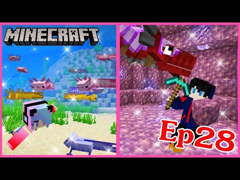 Minecraft Ep.28 มายคราฟเอาชีวิตรอดอยู่ในโลกมังกรจับมังกรมาเลี้ยง