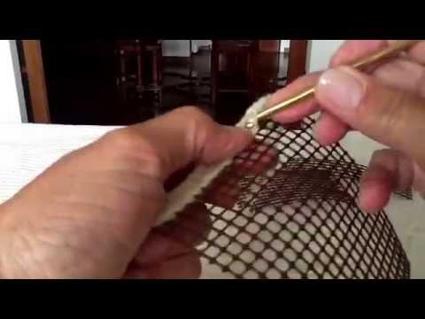 Lavorazione ad uncinetto nella rete youtube for Schemi borse uncinetto
