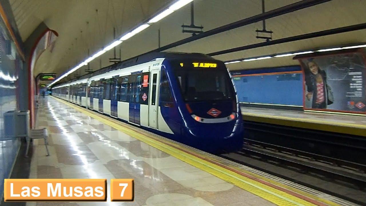 Las Musas L7 Metro De Madrid Serie 9000