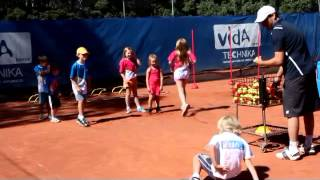 Hot Shots Tennis Lessons - Basket Game
