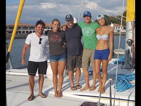 Wayfinder Voyages -- Panama Canal Crossing