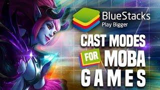 MOBA Games Skill Cast Modes | BlueStacks 4