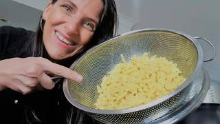 Homemade Pasta (German Spaetzle) - Tasty Egg Free Vegan Recipe!