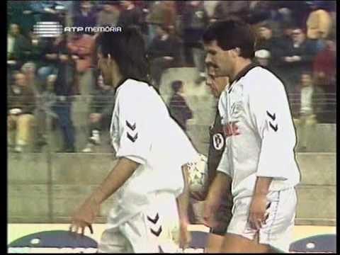 22J :: Espinho - 3 x Sporting - 1 de 1992/1993