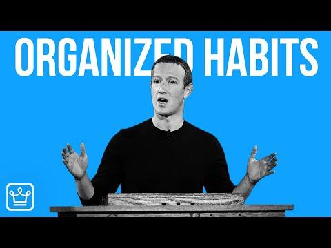 15 HABITS of ORGANIZED People