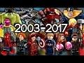 Every LEGO Marvel Super Heroes Set EVER MADE!!!