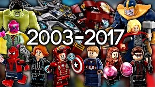 Every LEGO Marvel Super Heroes Set EVER MADE!!!