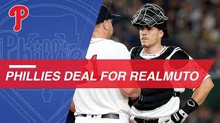 Phillies acquire All-Star catcher J.T. Realmuto