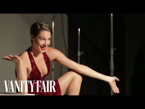 Shailene Woodly Busts a Move on the Set of Her Vanity Fair Shoot - Cover Shoots - Vanity Fair