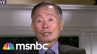 George Takei: Indiana Law Effects All Americans | msnbc