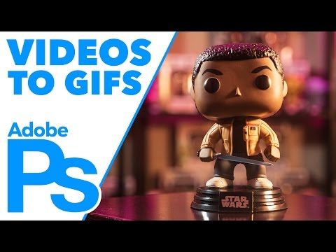 How to Turn a Video into a GIF in Adobe #Photoshop