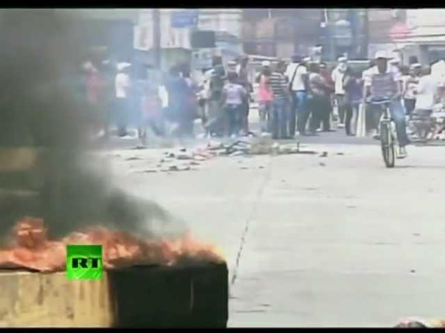 Антиправительственные демонстрации в столице Панамы