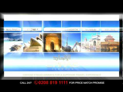 Fly High With Etihad Airways Book With Brightsun Travels - Fly With Best International Airways