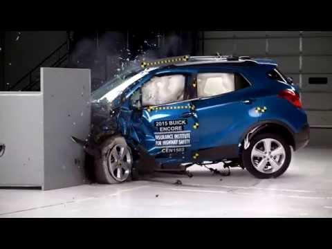 IIHS - 2015 Buick Encore / 2015 Chevrolet Trax - small overlap crash test / GOOD EVALUATION