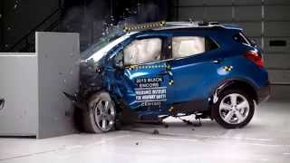 IIHS - 2015 Buick Encore / 2015 Chevrolet Trax - small overlap crash test / GOOD EVALUATION