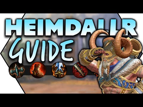 SMITE: How To Play Heimdallr! | Heimdallr Guide: Builds, Combos & Leveling
