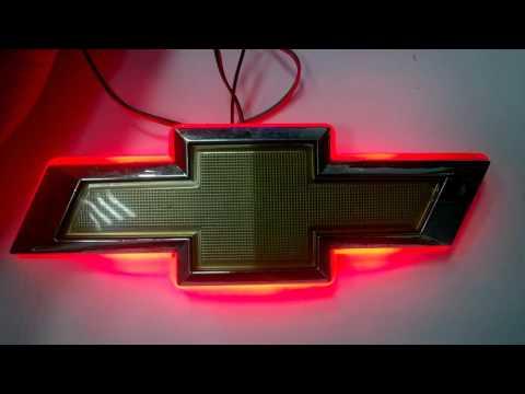 Эмблема Chevrolet Cruze с функцией стоп-габарит