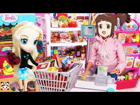 Barbie Doll Grocery Store Toys