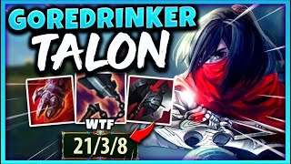 TALON IS NOW ONE OF THE HARDEST TANKS TO KILL IN THE GAME! - League of Legends