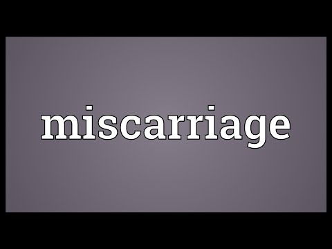 miscarriage-meaning