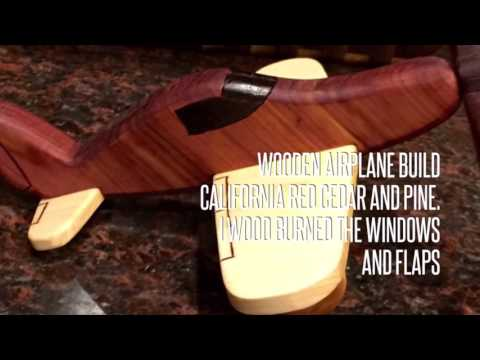 Wooden Airplane build