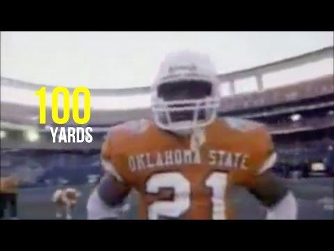 Barry Sanders 100-Yard Kickoff Return