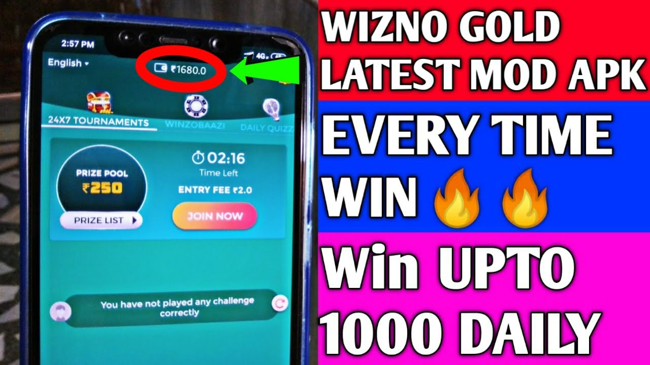 WINZO GOLD LATEST MOD APK | EVERY TIME WIN | NO BAN WIN UPT0 DAILY