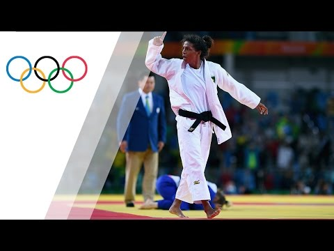 Judo gold for Brazil native Rafaela Silva