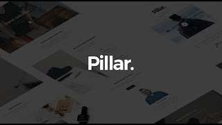 Pillar Wordpress Theme Review & Demo | Multipurpose Multi-Concept Responsive WordPress Theme | Pillar Price & How to Install