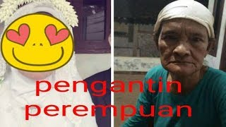 Viral! Riasannya Bikin Pangling, Nenek 70 Tahun Menikah Dengan Pemuda 21 Tahun