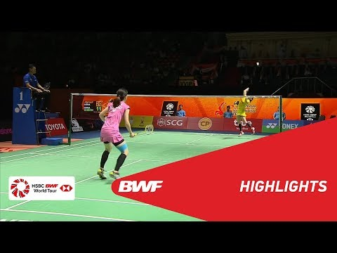 Princess Sirivannavari Thailand Masters 2018 | Badminton WS - F - Highlights | BWF 2018