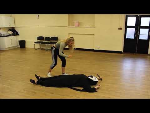 Teigan & Kayleigh (Scary Movie) | | Stage Combat ( Knife) | The Brighton Academy | (18-21)