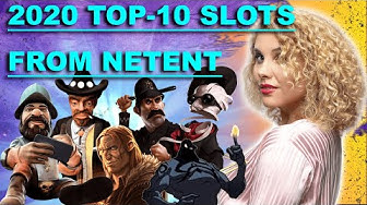 🔥 TOP 10 Netent Slots 2020 | Online Casino Games | Gambling Machines | Netent Big Wins Compilation