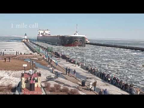 American Century arrived Duluth 03/26/19