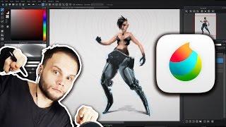 MEDIBANG! - Let's Test MediBang Paint Pro