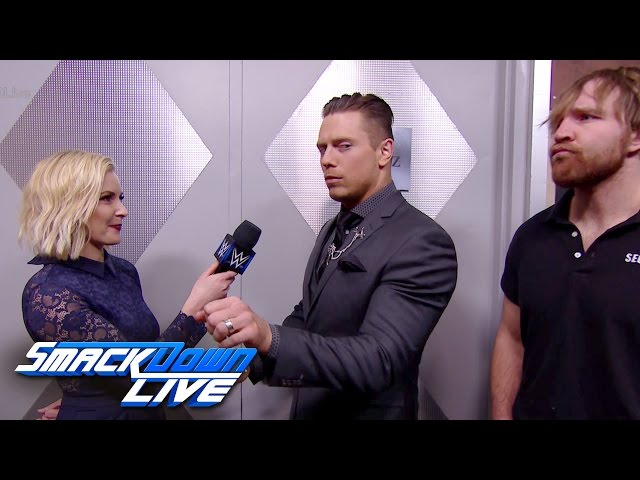 Dean Ambrose executes a sneak attacks on The Miz: SmackDown LIVE Wild Card Finals, Dec. 27, 2016