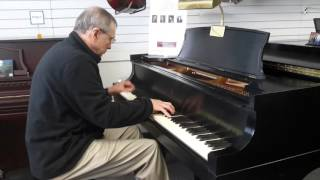 Steinway B available at Piano Trends Music & Band in Crystal Lake