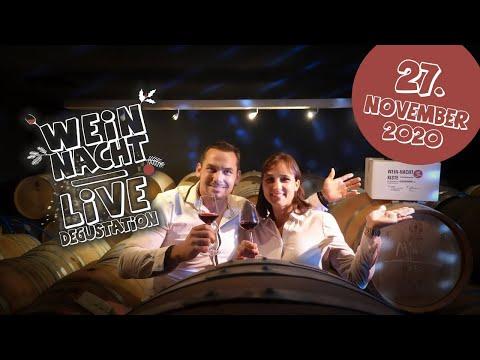 🔴 WEIN-NACHT LIVE - Weindegustation Freitag 27. November