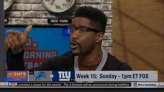 Nate Burleson & Schrager Says Lions Can Beat NY Giants & Calls Out ESPN #NYWeek