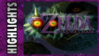 HIGHLIGHTS: Let's Play Legend of Zelda: Majora's Mask
