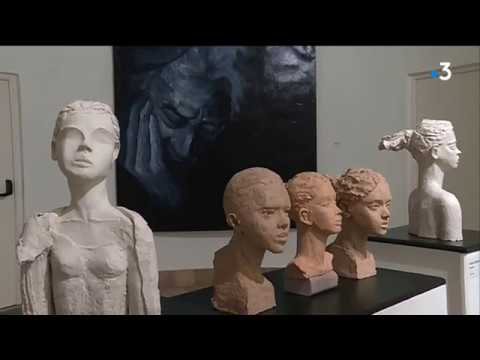 Le travail de la sculptrice niçoise Elisheva Copin et de la peintre Agnès Doneau à Menton