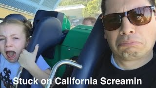 Stuck on California Screamin with a GoPro 2016 Disneyland California Adventure