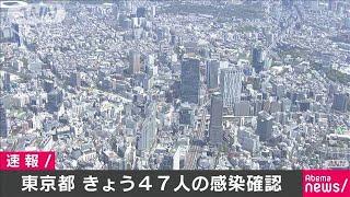 東京の新たな感染者は47人(20/04/29)