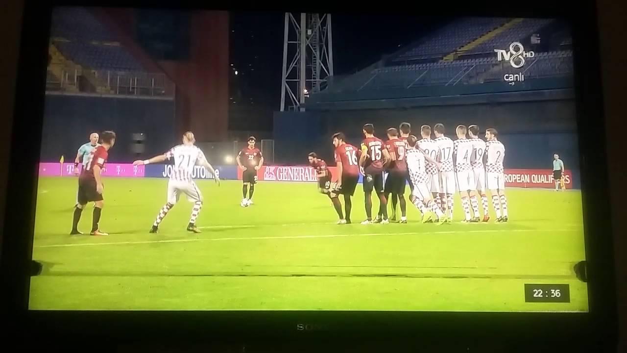 Croatia - Turkey / 1 - 1 / Turkey Goal / Hakan Calhanoglu / 45+1 /