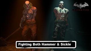 MISC; Batman; Arkham City; Fighting Both Hammer & Sickle