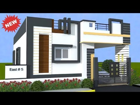 Latest Single Floor House Elevation Designs House 3d View