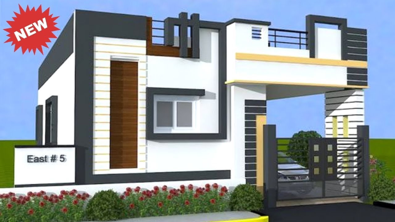 Latest Single Floor House Elevation Designs House 3d View And Front Elevation 2019 Plan N Design